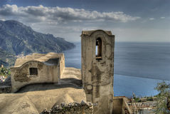 Vista de Ravello Fotografia de Stock