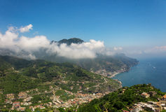 Vista de Ravello Imagens de Stock