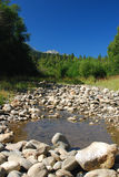 Vista de relaxamento em montanhas de Cáucaso Fotografia de Stock