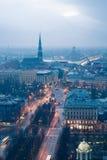 Vista de Riga Imagen de archivo