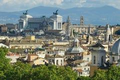 Vista de Roma Imagens de Stock Royalty Free