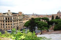 Vista de Roma Fotografia de Stock