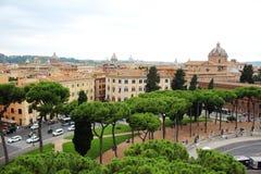 Vista de Roma Imagem de Stock Royalty Free