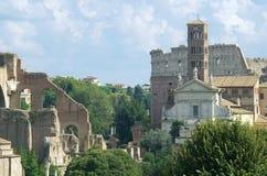 Vista de Roma Imagen de archivo libre de regalías