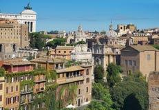 Vista de Roma Fotografía de archivo