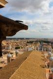Vista de Roma do Vaticano Fotos de Stock