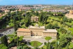 Vista de Roma do Vaticano Foto de Stock Royalty Free