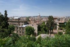 Vista de Roma, Italia foto de archivo