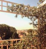 Vista de Roma, Italia foto de archivo libre de regalías