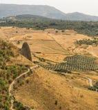 Vista de Ronda Andalucia, Espanha Imagem de Stock