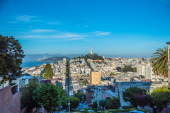 Vista de San Francisco - California fotos de archivo libres de regalías
