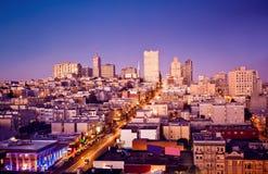 Vista de San Francisco, EUA fotos de stock
