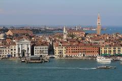Vista de San Giorgio Maggore Venice, Itália Imagem de Stock Royalty Free