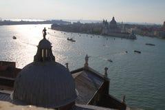 Vista de San Giorgio Maggore Venice, Itália Foto de Stock
