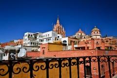 Vista de San Miguel de Allende Imagem de Stock Royalty Free