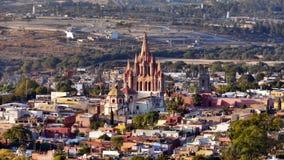 Vista de San Miguel de Allende Fotos de archivo libres de regalías