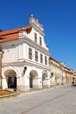 A vista de Sandomierz, Poland Imagens de Stock Royalty Free