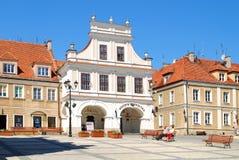 A vista de Sandomierz, Poland Fotografia de Stock