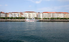Vista de Santander Fotografia de Stock Royalty Free