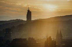 Vista de Sarajevo Fotografía de archivo libre de regalías