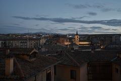 Vista de Segovia Imagem de Stock