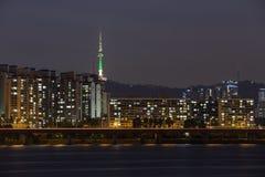 Vista de Seoul Imagem de Stock