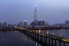 Vista de Seoul Imagem de Stock Royalty Free