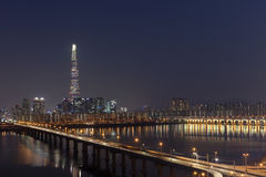 Vista de Seoul Foto de Stock