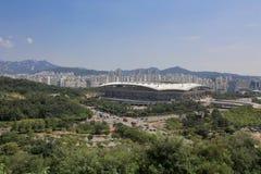 Vista de Seoul Coreia do Sul fotografia de stock