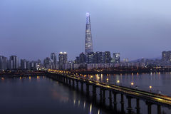 Vista de Seul Imagen de archivo libre de regalías