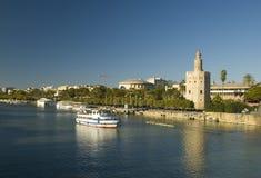 Vista de Sevilla Foto de archivo
