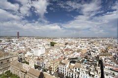 Vista de Sevilla fotos de archivo