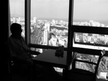 Vista de Shantou fotografia de stock