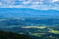 Vista de Shenandoah Valley hermoso, Virginia, los E.E.U.U. foto de archivo