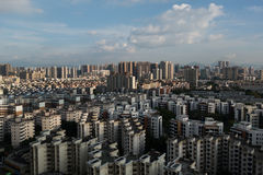 Vista de Shenzhen foto de stock