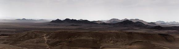 Vista de Sinai de Israel fotografia de stock