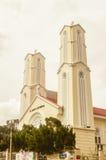 Vista de St. John \ 'catedral de s en Kuala Lumpur Fotos de archivo libres de regalías