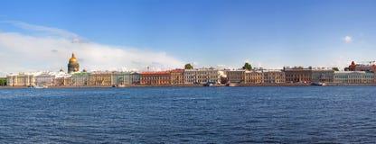 Vista de St Petersburg, Rússia Foto de Stock