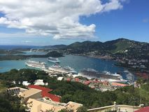 Vista de St Thomas Imagem de Stock Royalty Free