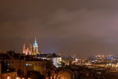 Vista de St Vitus Cathedral Imagem de Stock Royalty Free