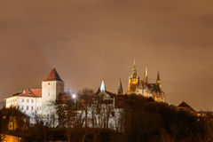 Vista de St Vitus Cathedral Imagens de Stock Royalty Free