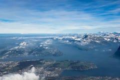 Vista de Suiza Fotografía de archivo libre de regalías