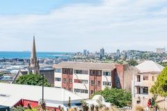 Vista de Summerstrand em Port Elizabeth imagens de stock