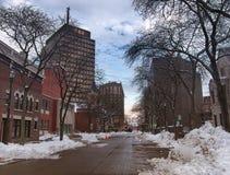 Vista de Syracuse, Nueva York Imágenes de archivo libres de regalías