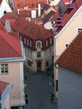 Vista de Tallinn Foto de archivo libre de regalías