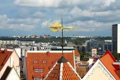 Vista de Tallinn, Estónia fotos de stock