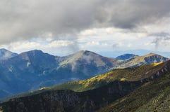 Vista de Tatra alto Foto de Stock
