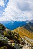 Vista de Tatras ocidental polonês no verão Fotos de Stock