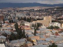 Vista de Tbilisi (Geórgia) Foto de Stock Royalty Free
