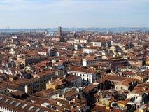 Vista panorâmica de Veneza Imagens de Stock